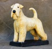irish soft coated wheaten terrier h:19cm