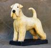 irish soft coated wheaten terrier h:19cm