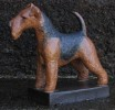 welch terrier h:18 cm