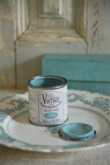 Jeanne d´Arc Living Vintage Paint - Dusty Turquoise