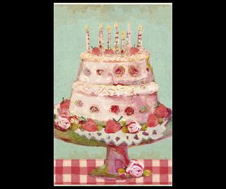 .Kort - Maileg (Birthday cake)