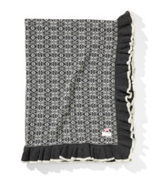 .Odd Molly Lovely Knit Blanket Asphalt