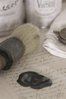 Jeanne d´Arc Living Vintage Paint - Black velvet