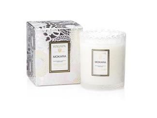 .Voluspa Scalloped Edge Candle - Mokara (doftljus, Limited Edition)