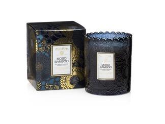 .Voluspa Scalloped Edge Candle - Moso Bamboo (doftljus, Limited Edition)