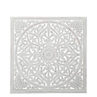 Carve Tempeltavla, vit (90x90) - Beställningsvara
