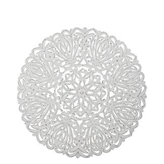 Carve Tempeltavla, rund vit (dia: 90 cm) Beställningsvara
