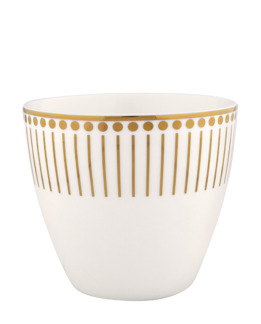 Greengate Gate Noir Latte Mugg Dawn gold