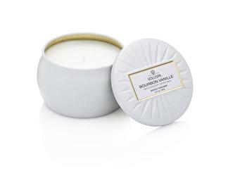 .Voluspa Decorative Tin Candle Bourbon Vanille (doftljus)