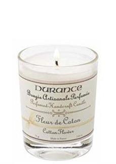 Durance Mini Candle Cotton Flower
