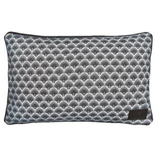 . Greengate Gate Noir Kuddfodral 30x50 cm, Elvina grey