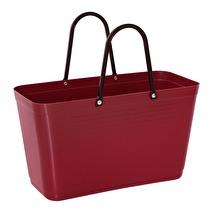 ..Hinza väska - Vinröd (Green Plastic)