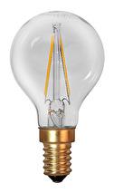 LED lampa, dekoration, klar filament (E14)