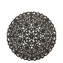 Carve Tempeltavla, rund svart (dia: 90 cm)