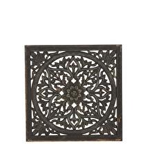 Carve Tempeltavla, svart (45x45 cm)