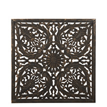 Carve Tempeltavla, svart (90x90 cm)