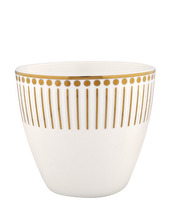 ...Greengate Gate Noir Latte Mugg Dawn gold