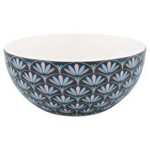 GreenGate Cereal Bowl Victoria Dark Grey
