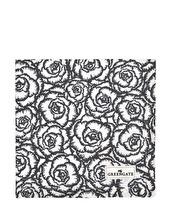 ..Greengate Gate Noir Brödkorgsduk Blossom Grey
