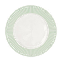 GreenGate Assiett Alice Pale Green