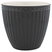 GreenGate Latte Mugg Alice dark grey