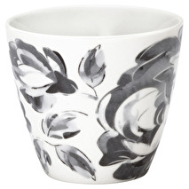 GreenGate Latte Mugg Amanda Dark Grey