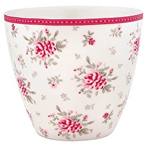 GreenGate Latte Mugg Flora white