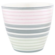 GreenGate Latte Mugg Mabel white