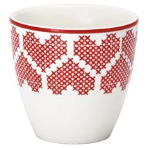 GreenGate Mini Lattemugg December red