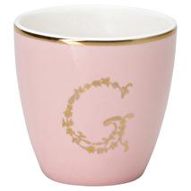 GreenGate Mini Lattemugg G pale pink