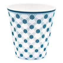 GreenGate Mugg i melamin, Lolly blue