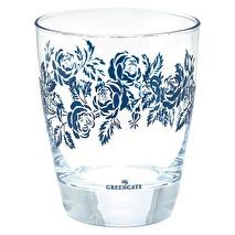 Greengate Dricksglas Fleur blue