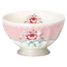 Greengate French Bowl Medium Betty Pale Pink
