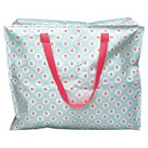Greengate Stor plastbag Tammie pale blue (large)