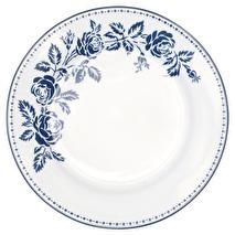 Greengate assiett Fleur blue