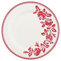 Greengate assiett Fleur red