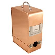 Bag in Box, Vinbox - kopparfinish