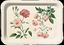 Bricka med rosor i laminat, Sköna ting