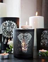 Maja, Elephant Namasté (svart/silver)