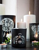 Maja, Elephant love (svart/silver)
