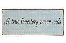 IB Laursen Metall skylt A true lovestory