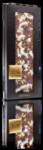 .chocoMe - Ljus choklad 40% (kokosflagor, kanderade violer, ätbart bladguld)