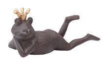 Groda i gjutjärn, ligger på magen