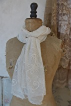 Jeanne d´Arc Living - Scarves, Dreamy senses (cream)
