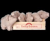 Maileg, Baby Bacon (Gris)