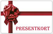 Presentkort från
