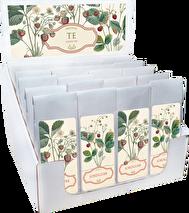 Te, Jordgubbe - Motiv av jordgubbsplantor (Sköna Ting)