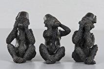 3 apor, Inte se/Inte höra/Inte tala - Förhandsbokning