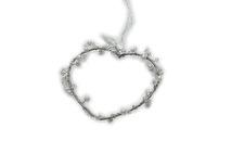 Dekorationshjärta pearl