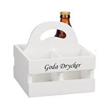 Låda, Goda drycker (plats för 4 flaskor)